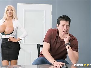 Nicolette Shea takes on Xanders big thick manhood