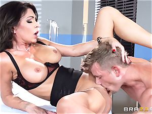 edible medic Jessica Jaymes eases her throbbing patient