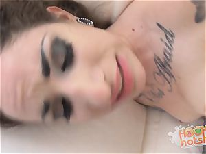 Sheena Rose licked banged and facialled with jism