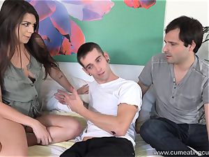 Olivia Lua smashes Her husbands younger brutha