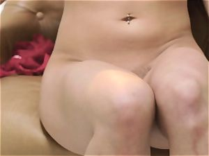 Whitney Wright flashes off the groin