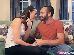 Aidra Fox banging her boyfriend in the house