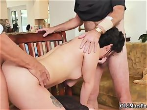 nubile daddy creampie group sex More 200 years of man knob for this marvelous dark-haired!