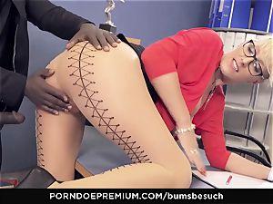 cabooses BUERO - platinum-blonde cougar office affair penetrate session