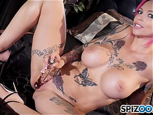 Solo matubating Anna Bell Peaks
