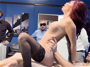 horny office antics with Monique Alexander