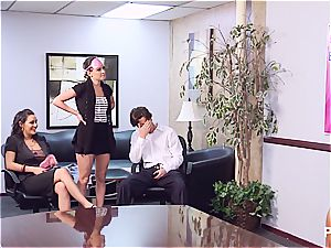 Getting ultra-kinky in the office part 1