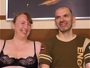 SEXTAPE GERMANY - German mature dark-haired porked stiff