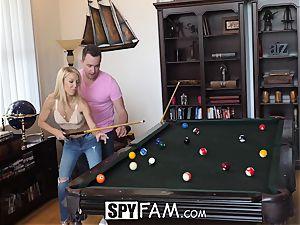 SpyFam Stepmom Laura Bentley porks stepson
