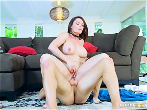 Diamond Foxxx pulverized nut sack deep by draped Sean in the booty