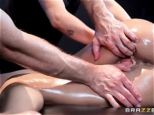 sausage ultra-kinky Peta Jensen gets shafted from both concludes