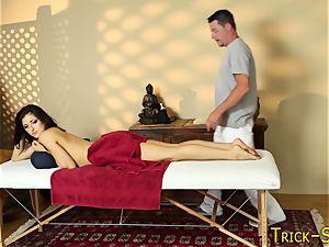 massaged black-haired jacks