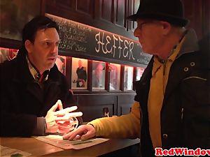 domineering dutch prostitute humiliating tourist