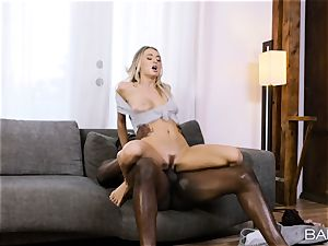 Natalia Starr cant wait to sense that big black cock deep inwards her