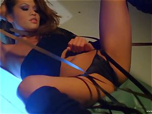 Charmane star finger penetrates her mouth-watering humid gash
