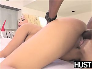 huge-boobed vixen Luna starlet railed rigid in bbc session