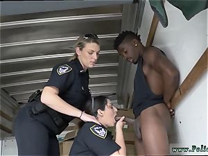 first-timer blowage compilation ebony suspect taken on a raunchy ride