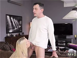 damsel bound and plumbed sleepy guy missed how his daddy plows his girlpal