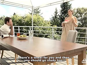 horny INLAWS - Lusty Czech honey romps stepbrother rigid