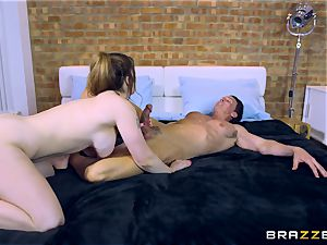 Lucia love poking 2 studs at different times