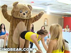 CFNM Bachelorette soiree with the big man meat Dancing teddy
