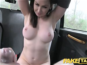 faux cab steamy Australian dark haired in stilettos