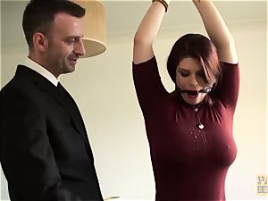british subslut Lucia enjoy anally beaten raunchy