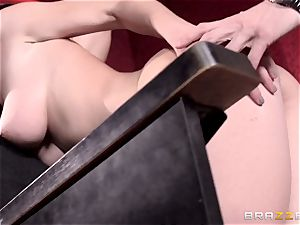 Cherie Deville and Molly Jane smash weenie in a porn theatre