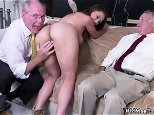 daddy pal s associate first-timer hardcore Ivy amazes with her humungous mounds and arse