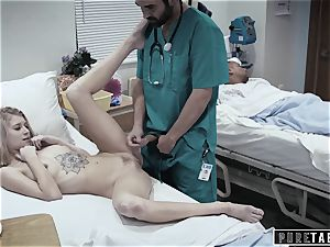 pure TABOO crank medic Gives nubile Patient labia exam