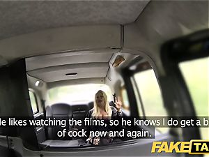 faux taxi filthy pipe lovinТ blond with excellent boobies
