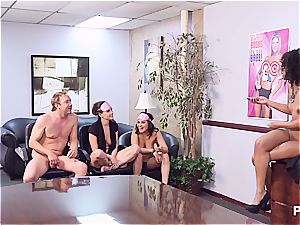 Getting nasty in the office part 4