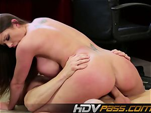 HDVPass buxom Brooklyn shows off those ample bosoms