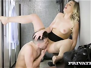 Lonely gal Mia Malkova wants love and affection in the city bus