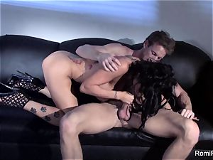 fantastic Romi Rain teases and then gets banged rigid
