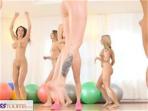 sport rooms g/g threeway fitness drill fest