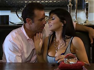Romi Rain is thanked with a large prick penetrating