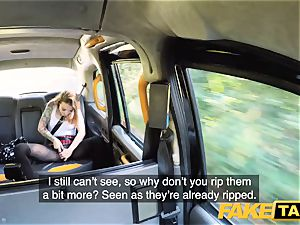 fake taxi puny Kylie Nymphette snatch ravaged