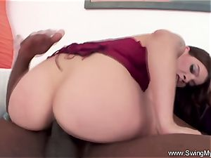 interracial bbc With thick jug latina Swinger
