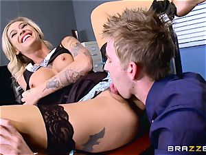 Kleio Valentien hard-on plunged by Danny D