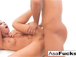 Asa's assfuck fisting and ravaging internal cumshot