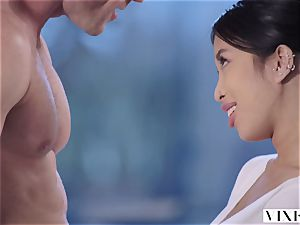 VIXEN youthfull asian college girl Has sultry lovemaking With Neighbor