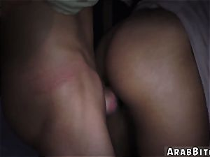 Arab hotwife The ass drop point, 23km outside base