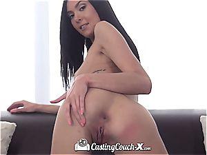 Marley Brinx at pornography casting