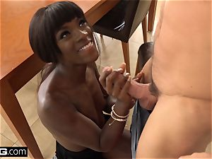 plumb Confessions Ana Foxxx pounds her step bro's fuck-stick