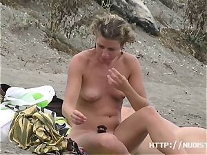 perfect huge-chested bra-stuffers nude beach spycam totally nude