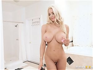 Nicolette Shea humped from the rear