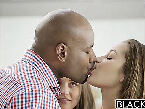 BLACKED gfs Dani Daniels and Allie Haze interracial 3some