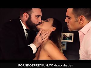gonzo SHADES - Tina Kay double penetration and bj in MMF bang festival