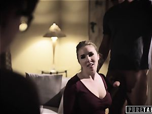 pure TABOO Lena Paul convinced into ass-fuck with Bosses hubby